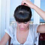 messy updo hair tutorial 28