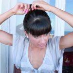 messy updo hair tutorial 29