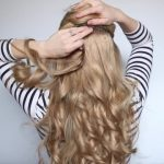 romantic prom hairstyle with luxy hair extensions missy sue 16