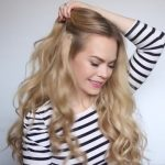 romantic prom hairstyle with luxy hair extensions missy sue 18