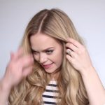 romantic prom hairstyle with luxy hair extensions missy sue 19