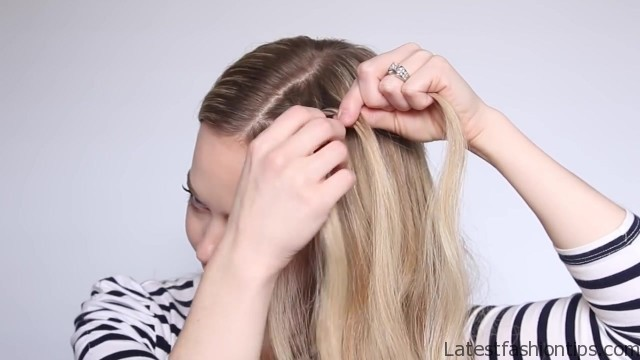 romantic prom hairstyle with luxy hair extensions missy sue 26