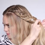 romantic prom hairstyle with luxy hair extensions missy sue 41