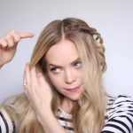 romantic prom hairstyle with luxy hair extensions missy sue 43
