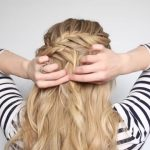 romantic prom hairstyle with luxy hair extensions missy sue 47