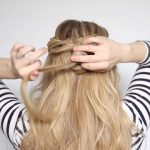 romantic prom hairstyle with luxy hair extensions missy sue 49