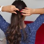 soft romantic ponytail hairstyle 14