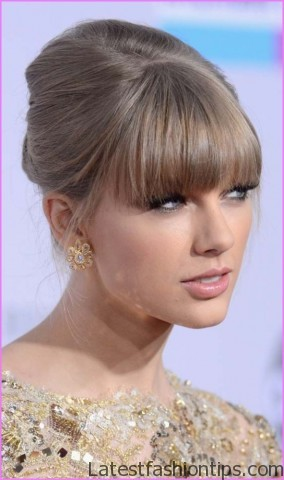 taylor swifts amas figure eight braided ponytail hairstyle 3 Taylor Swifts AMAs Figure Eight Braided Ponytail Hairstyle
