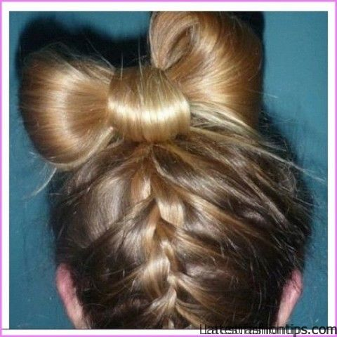 The Bow Braid Hairstyle