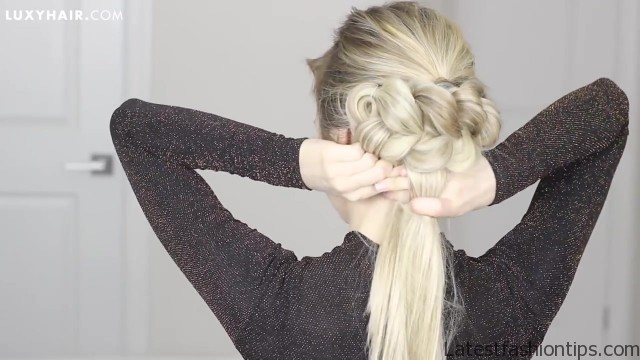 the most gorgeous updo perfect for long medium and short hair 41