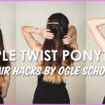 Triple Twisted Pony Tail Hairstyle_10.jpg