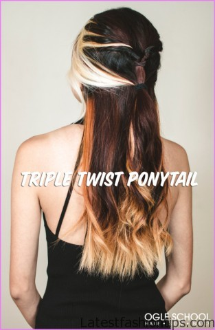 Triple Twisted Pony Tail Hairstyle_11.jpg