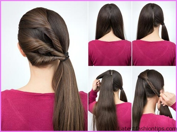 Triple Twisted Pony Tail Hairstyle_2.jpg