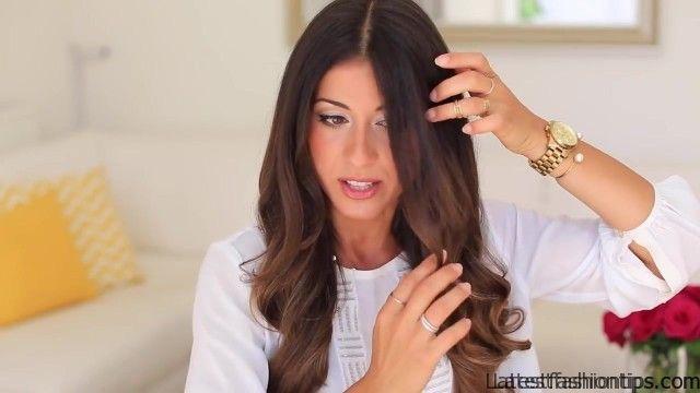 twistback hairstyle luxy hair 11