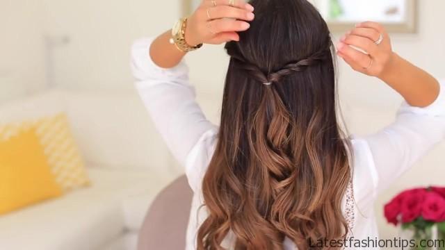twistback hairstyle luxy hair 23