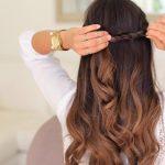 twistback hairstyle luxy hair 24