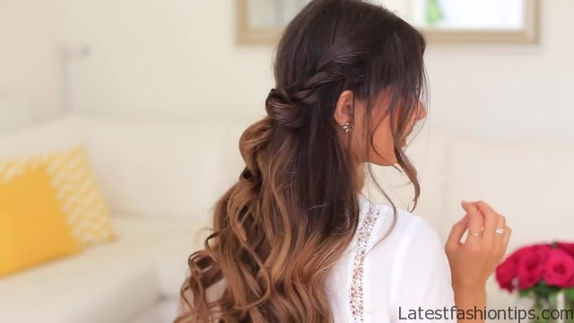 twistback hairstyle luxy hair 25