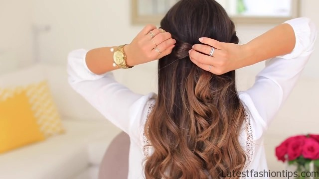 twistback hairstyle luxy hair 26