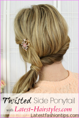 Twisted Everyday Double Ponytail Hairstyle_12.jpg