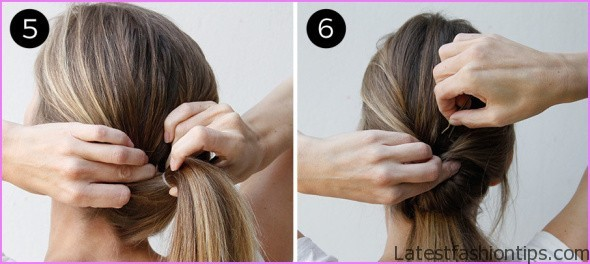 Twisted Everyday Double Ponytail Hairstyle_5.jpg