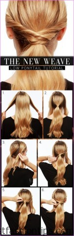 Twisted Everyday Double Ponytail Hairstyle_7.jpg