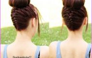 Upside Down French Braid Bun Style Hairstyle_0.jpg