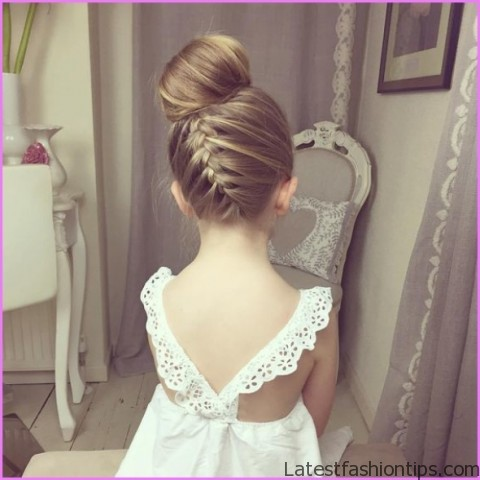 upside down french braid bun style hairstyle 14 Upside Down French Braid Bun Style Hairstyle