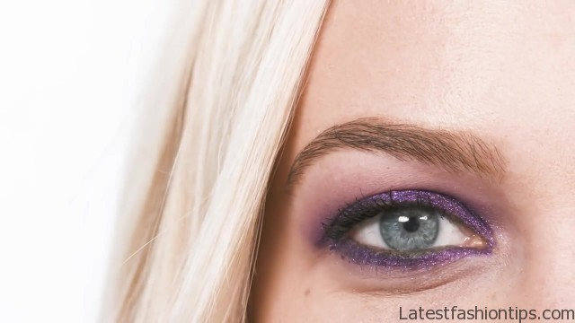3 colorful eye makeup looks tutorial short cuts 05
