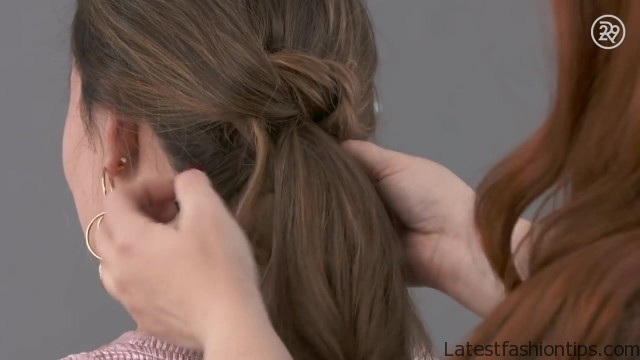 3 easy gorgeous holiday hairstyles to recreate beauty in a snap 07