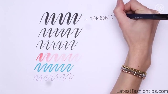 5 days of calligraphy hand lettering 28