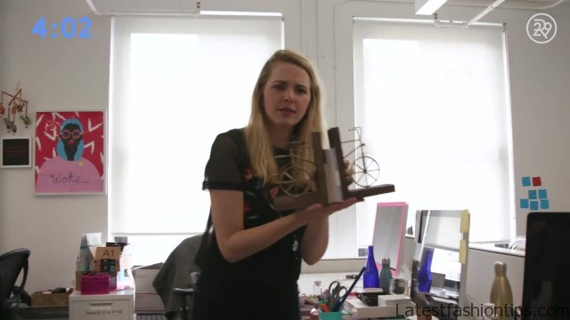 5minute desk organization with lucie fink bea organized 14