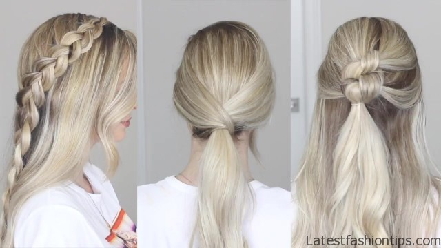 EASY Back to School Hairstyles 2018