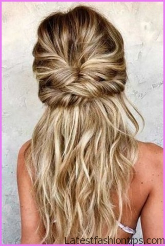 easy hairstyles for spring perfect for medium hair and long hair 10 EASY HAIRSTYLES FOR SPRING Perfect For Medium Hair and Long Hair