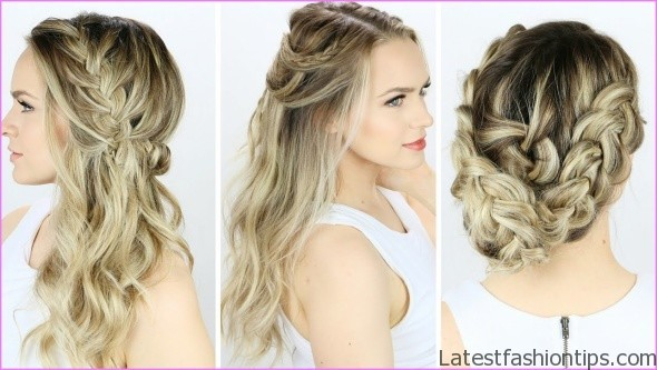 easy hairstyles for spring perfect for medium hair and long hair 11 EASY HAIRSTYLES FOR SPRING Perfect For Medium Hair and Long Hair