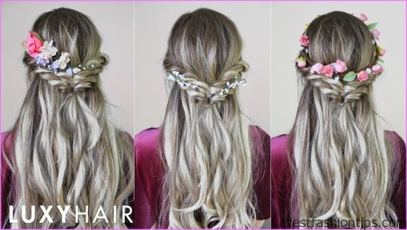 easy hairstyles for spring perfect for medium hair and long hair 2 EASY HAIRSTYLES FOR SPRING Perfect For Medium Hair and Long Hair