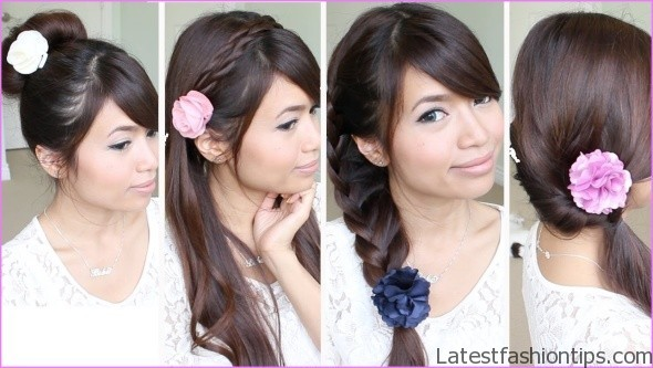 easy hairstyles for spring perfect for medium hair and long hair 3 EASY HAIRSTYLES FOR SPRING Perfect For Medium Hair and Long Hair