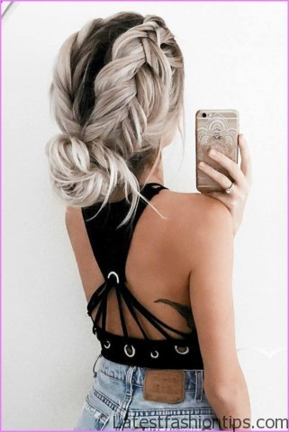 easy hairstyles for spring perfect for medium hair and long hair 4 EASY HAIRSTYLES FOR SPRING Perfect For Medium Hair and Long Hair