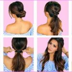 EASY HAIRSTYLES FOR SPRING Perfect For Medium Hair and Long Hair_5.jpg