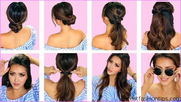 easy hairstyles for spring perfect for medium hair and long hair 5 EASY HAIRSTYLES FOR SPRING Perfect For Medium Hair and Long Hair