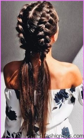 easy hairstyles for spring perfect for medium hair and long hair 8 EASY HAIRSTYLES FOR SPRING Perfect For Medium Hair and Long Hair
