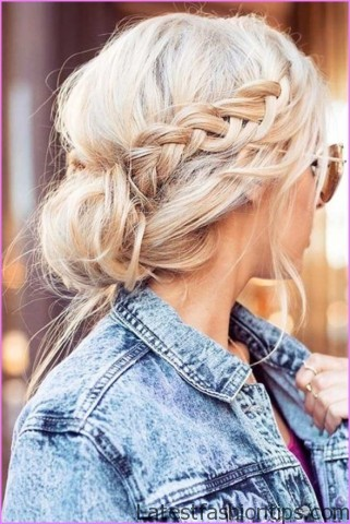 easy hairstyles for spring perfect for medium hair and long hair 9 EASY HAIRSTYLES FOR SPRING Perfect For Medium Hair and Long Hair