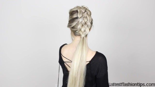 How To 5 Strand Braid Tutorial Long Medium Length Hairstyles