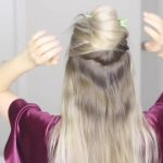 how to chinese staircase braid ponytail 10