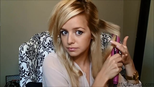 how to curl your hair with a hair straightener flat iron 18