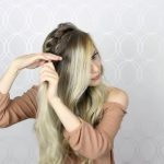 how to double twist crown braid easy simple 25