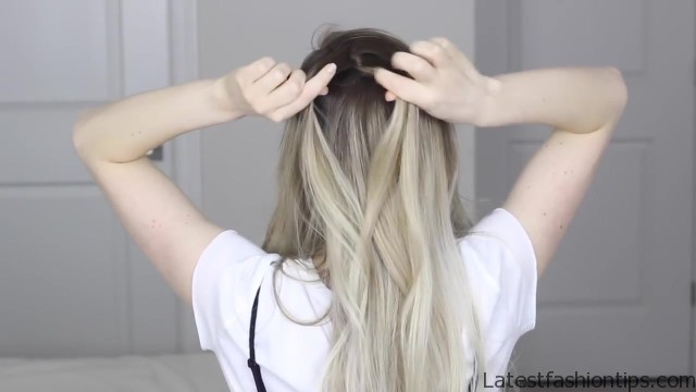 how to dutch fishtail faux hawk festival school boho hairstyle 12