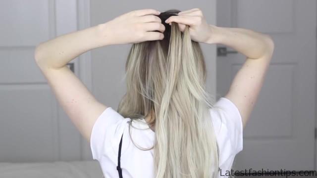 how to dutch fishtail faux hawk festival school boho hairstyle 16
