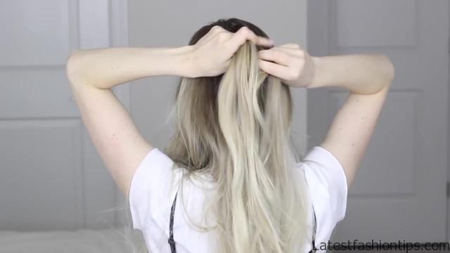 how to dutch fishtail faux hawk festival school boho hairstyle 18