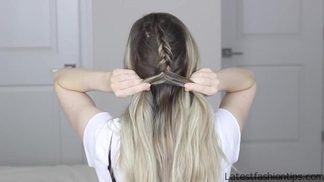how to dutch fishtail faux hawk festival school boho hairstyle 24