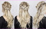 HOW TO Half-Up Half-Down Pull Through Braid Waves Tutorial EASY braid_0.jpg
